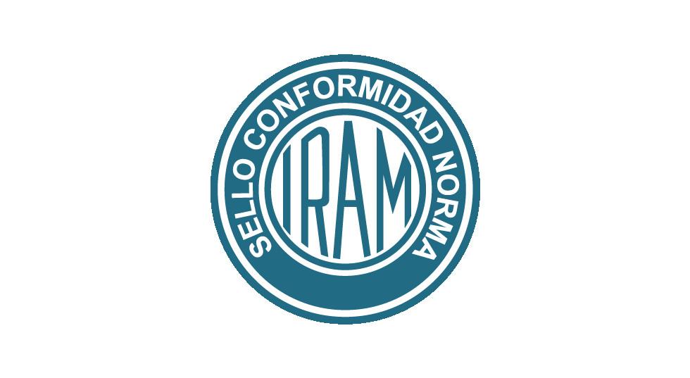 IRAM Lingas de cabos de aço Certificação IRAM 5221:1990 Selo de Identificação da Conformidade olhal trançado flamengo.